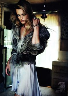 Edita Vilkeviciute by Peter Lindbergh for Vogue China