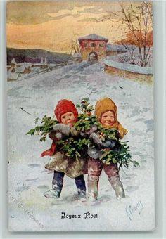 BKW Serie 3199-2 , Joyeux Noel, Neujahr - Kinder mit