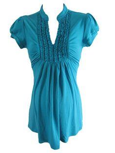 Tuxedo in Blue by Siren Lily Maternity - Maternity Clothing - Flybelly Maternity Clothing