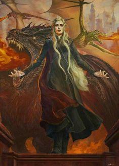 Daenerys Targaryen, a Mãe de Dragões