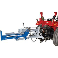 The Powerhorse® 3-Pt. Horizontal/Vertical Log Splitter attaches to Category 1 and 2 tractor 3-pt. hitches and uses the tractor's hydraulics to operate the 4in. x 24in. cylinder.