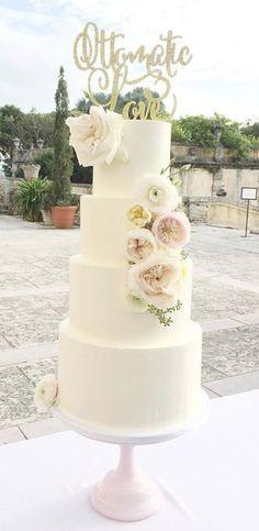 Wedding cake idea; Featured Cake: Earth and Sugar