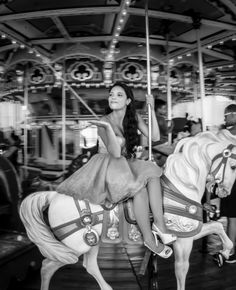 Paolo Antonio: Sweet 16 PhotoShoot: Merry Go Round in Brooklyn, with Eliza Imburgia