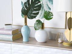 Frankfield Table Vase Beachcrest Home Dried Flower Arrangements, Flower Vases, Dried Flowers, Tall Floor Vases, Dandelion Designs, Mantle Piece, Keramik Vase, Mosaic Designs, Glazes For Pottery