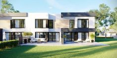 DOM.PL™ - Projekt domu CPT HomeKONCEPT-52 B2 CE - DOM CP1-63 - gotowy koszt budowy Home Fashion, Mansions, Architecture, House Styles, Home Decor, 2nd Floor, Arquitetura, Decoration Home, Manor Houses
