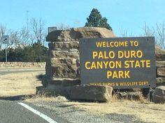 Palo Duro Canyon State Park nel Canyon, TX