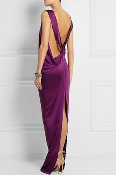 STELLA MCCARTNEY Ruth draped satin-twill gown €2,495.00 http://www.net-a-porter.com/products/504600