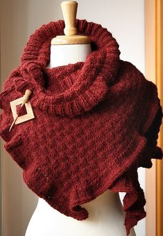 knit wrap pattern etsy