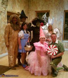 Wizard of Oz Group Halloween Costume