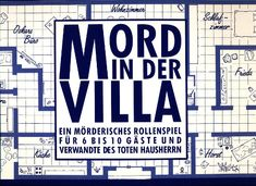 Mord in der Villa Villa, Mystery, Boards, Mansions, Box, Image, Role Play, Planks, Snare Drum