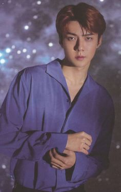 Sehun - 181208 2019 Season's Greetings official calendar Baekhyun Chanyeol, Park Chanyeol, K Pop, Kim Minseok, Xiuchen, Latest Albums, Kaisoo, Yixing, K Idols