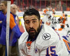 New York Islanders Cal Clutterbuck Hockey Teams, Hockey Players, New York Islanders, Team Pictures, Nhl, Baseball Cards, Art Prints, The Originals, Sports