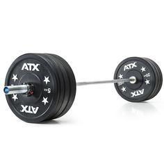 Vorteilspaket! ATX® Weight Lifting Gym Bumper-Set - 120 kg   #atxstrength #atxpower #hantelset #hantel #langhantel #workout #vorteilsangebot #sparangebot #weightlifting #gewichtheben