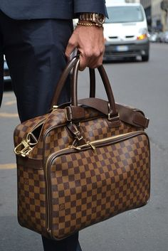 Damier Ebène Icare Bag by Louis Vuitton