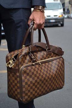 Damier Ebène Icare Bag by Louis Vuitton