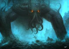 Cthulhu by Disse86 on @DeviantArt