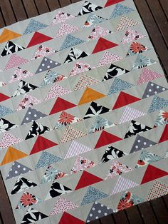 Red Pepper Quilts: The Flying Geese Quilt