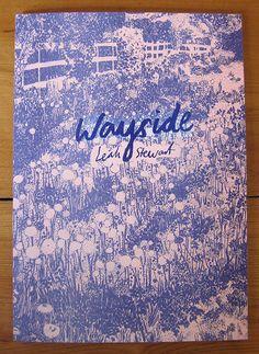 Wayside, 2 colour risograph zine