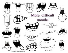 secondary mouths more difficult