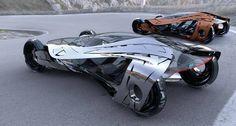 Concepto de Nissan Super Futurista http://on.fb.me/1hKjhwY