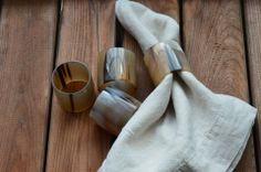 horn collection napkin rings | kitchen & Table | dar gitane