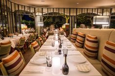 Restaurant Rivea by Ducasse