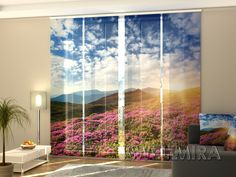 Set of 4 Panel Curtains Flowers and Mountains  #Wellmira #ModernCurtains #PanelCurtains #Curtains #JapaneseCurtains #Fotogardine #Schiebevorhang #Flächenvorhang #Schiebegardine #Flowers #Mountains https://wellmira.com/collections/sets-of-4-panel-curtains/products/set-of-4-panel-curtains-flowers-and-mountains?variant=25549625287