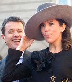 Crown Princess Mary and Crown Prince Frederick of Denmark