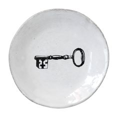 John Derian Company Inc — Key Small Plate johnderian.com Great site for gifts!