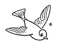 Kids Vintage Printable - Draw Some Birds - The Graphics Fairy