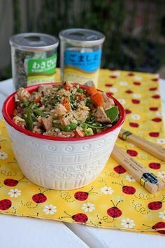 Veggie Pork Fried Rice | ShesCookin.com