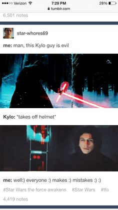 Memes Hilarious Cant Stop Laughing ; Memes - Star Wars Siths - Ideas of Star Wars Siths - memes hilarious cant stop laughing Reylo, Kylo Ren And Rey, Kylo Ren Wiki, Kylo Ren Meme, Kylo Ren Quotes, Starwars, Ella Enchanted, Star Wars Kylo Ren, Star Trek