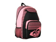 Roxy Shadow View Backpack Cherry Red