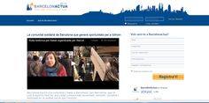 Agencia de comunicación para la red social solidaria Barcelonactua
