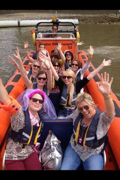 London RIB tour hen party idea?