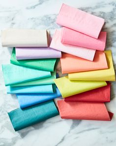 Our napkins are available in the very best colours. 🌈 (Styling by Paper Dinner Napkins, Napkins Set, Cookie Decorating Party, Party Suppliers, Rainbow Theme, Upcycled Crafts, Party Shop, Happy Day, Design Crafts