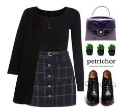 """""""PETRICHOR"""" by amilla-top ❤ liked on Polyvore featuring Gucci, Burberry, Givenchy and Ileana Makri"""