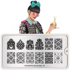 Fashionista Plate Collection 07