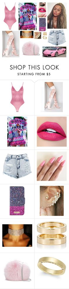 """The Powerpuff Girls"" by divinemaboundou ❤ liked on Polyvore featuring Boohoo, Tiger Mist, Kate Spade, Miss21 Korea, Repossi and Diane Von Furstenberg"