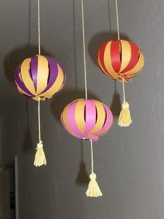 Les lanternes chinoises de Gaëlle