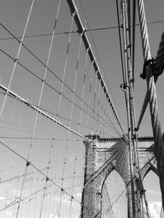 Brooklyn Bridge, Lower Manhattan, NYC