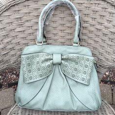 "Selling this ""MELIE BIANCO MINT HANDBAG"" in my Poshmark closet! My username is: mzehner2001. #shopmycloset #poshmark #fashion #shopping #style #forsale #Melie Bianco #Handbags"
