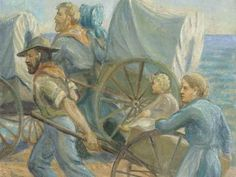 The Trek West--Official Site of the Mormon Pioneer Trek. It has maps, stories, information to research or visit the sites!