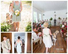 #Ceremony #bridesmaid #flowergirl