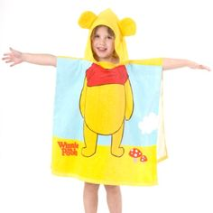 Badeponcho Winnie the Pooh, 60 x 120 cm