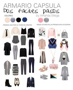 Dos fáciles pasos para crearte un armario cápsula de mujer y de invierno. Cómo combinar bien la ropa. Menos es más. Elige los colores y aprende a combinarlos. Combinar colores fríos. Combinar ropa gris, rosa, negro, plateado, azul