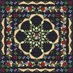 Barbara Brackman's MATERIAL CULTURE: Antler Quilt Designs Pattern ... : ladybug hill quilts - Adamdwight.com