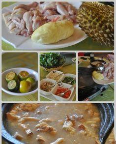 Durian chicken