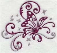 Machine Embroidery Designs at Embroidery Library! - A Fluttering Filigree Design Pack - Lg