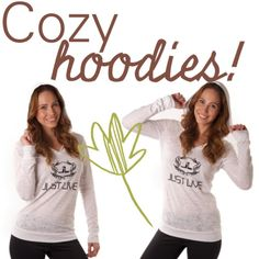 Hoodies for the Fall!